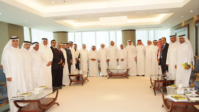 Meeting with a Delegation from the Kingdom of Bahrain