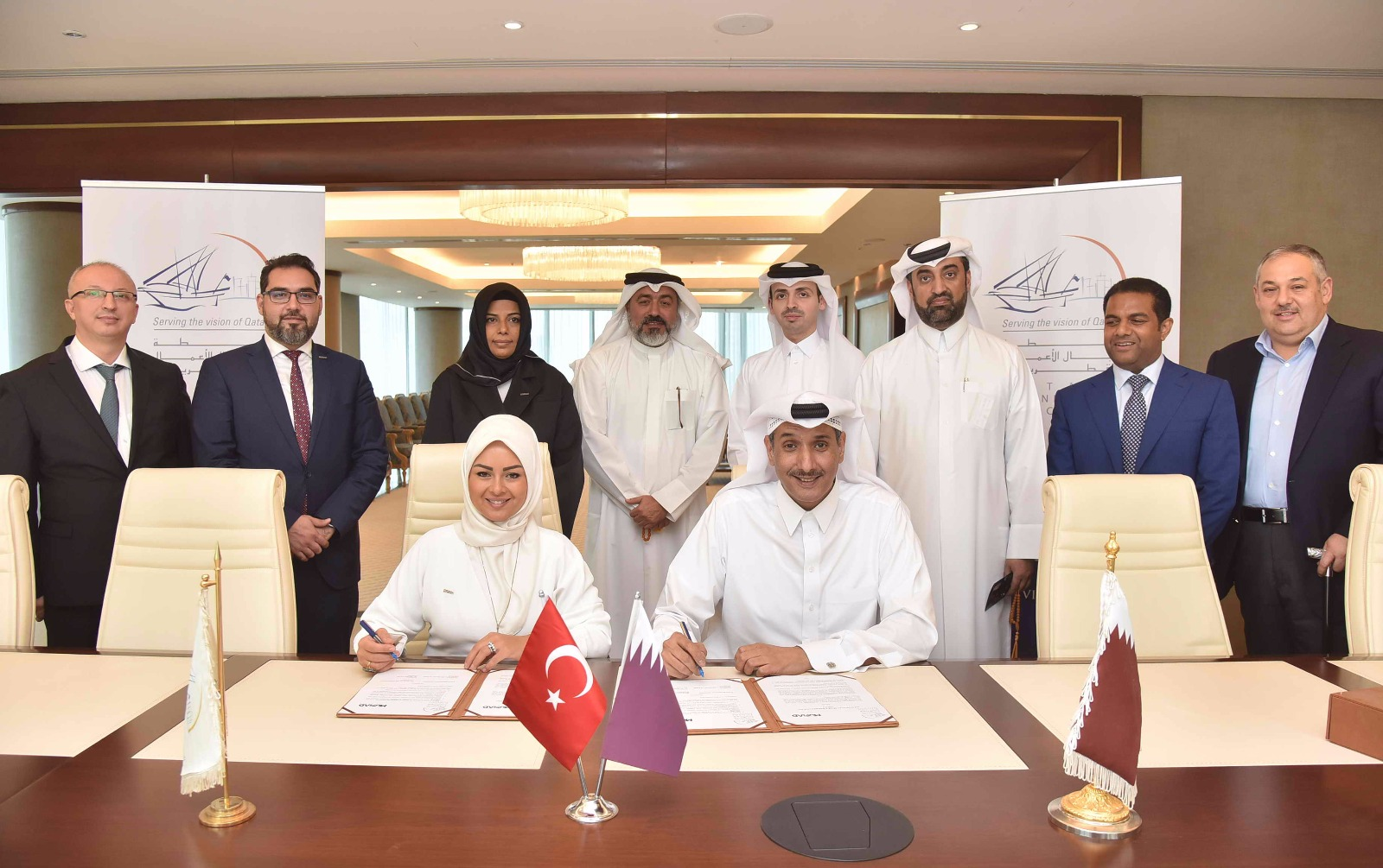 QBA meeting with MUSIAD delegation and Signing  an MOU for bilateral cooperation