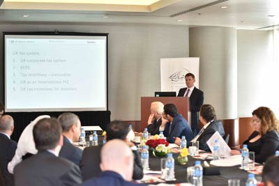 QBA organize the UK Tax Seminar in cooperation with the British Embassy