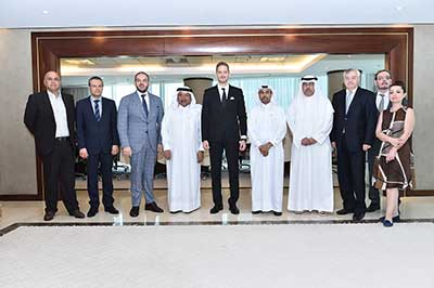 QBA meeting with H.E Mr. Ilan Laufer.Minister for Business Environment, Commerce and Entrepreneurship