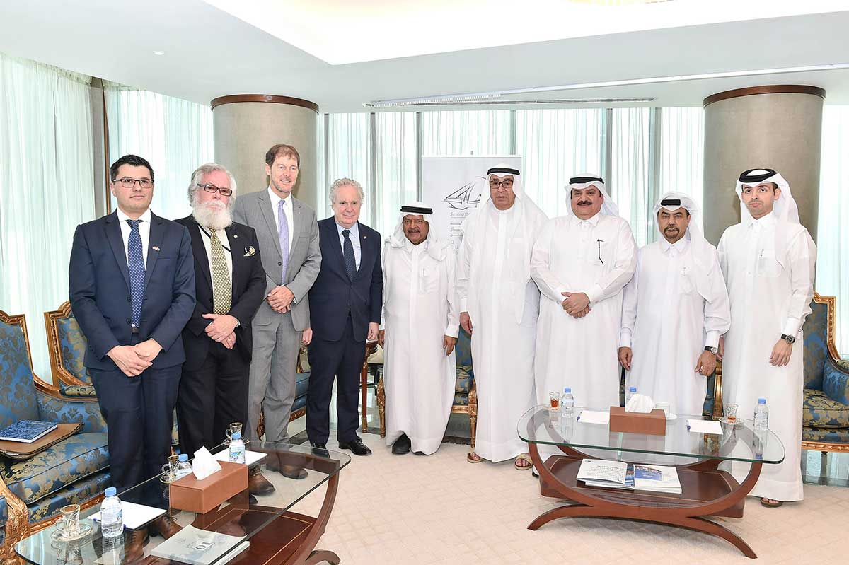 QBA meeting with the honorable Jean Charest, former Deputy Prime Minister of Canada