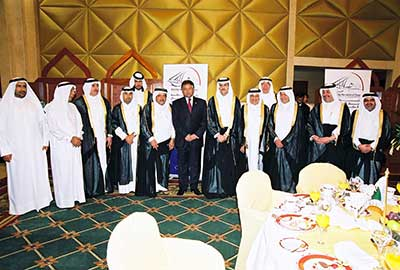 Qatari Businessmen Association held a Special Dinner in Honor of HE General Pervez Musharraf, President of Pakistan