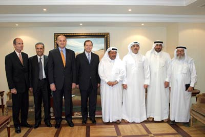 Visit the delegation accompanying the French  Minister of Civil Defense headquarters