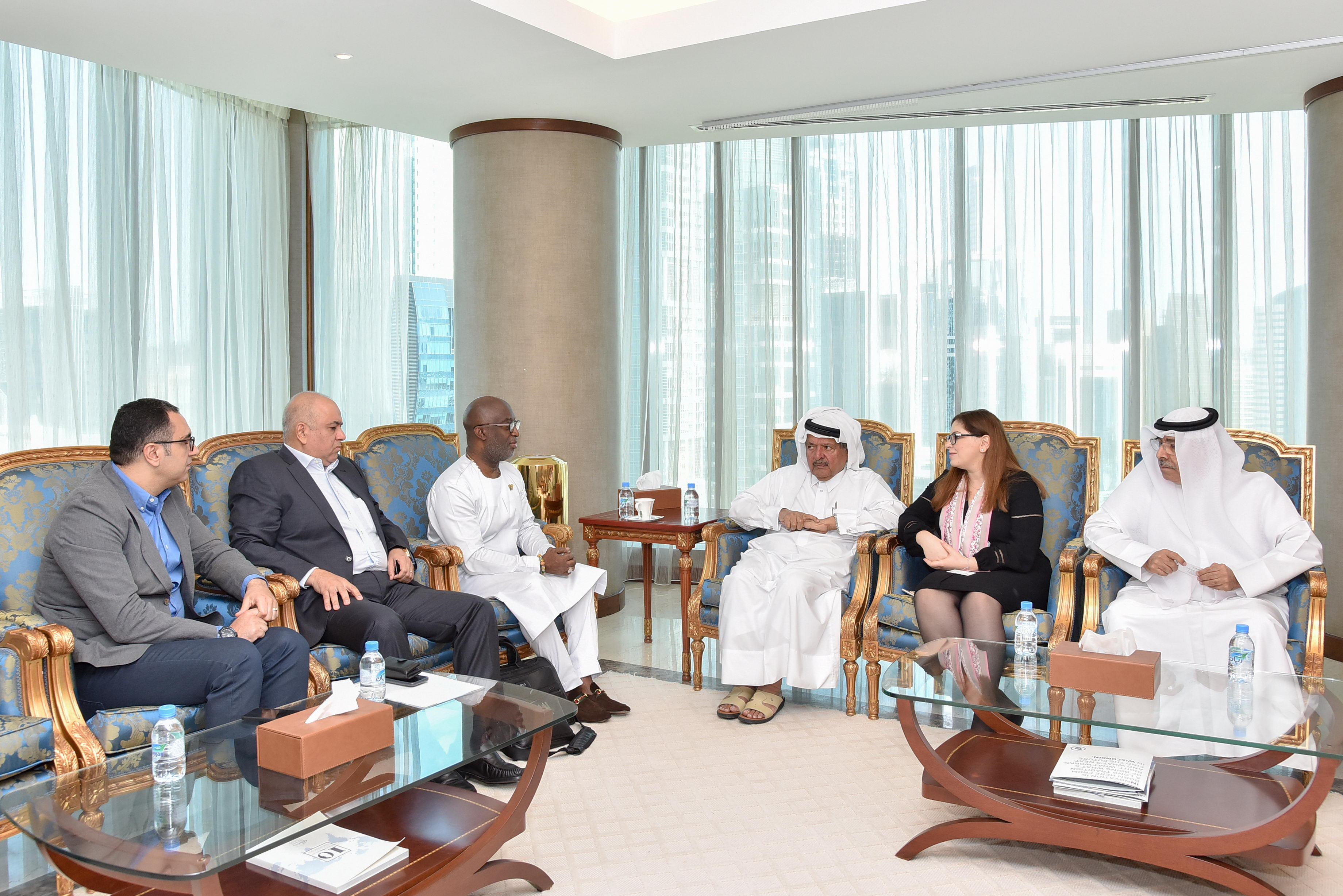 QBA Chairman meets with CEO Ghana Investment Promotion Centre
