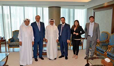 QBA Meeting with the Russian Qatari business council delegation