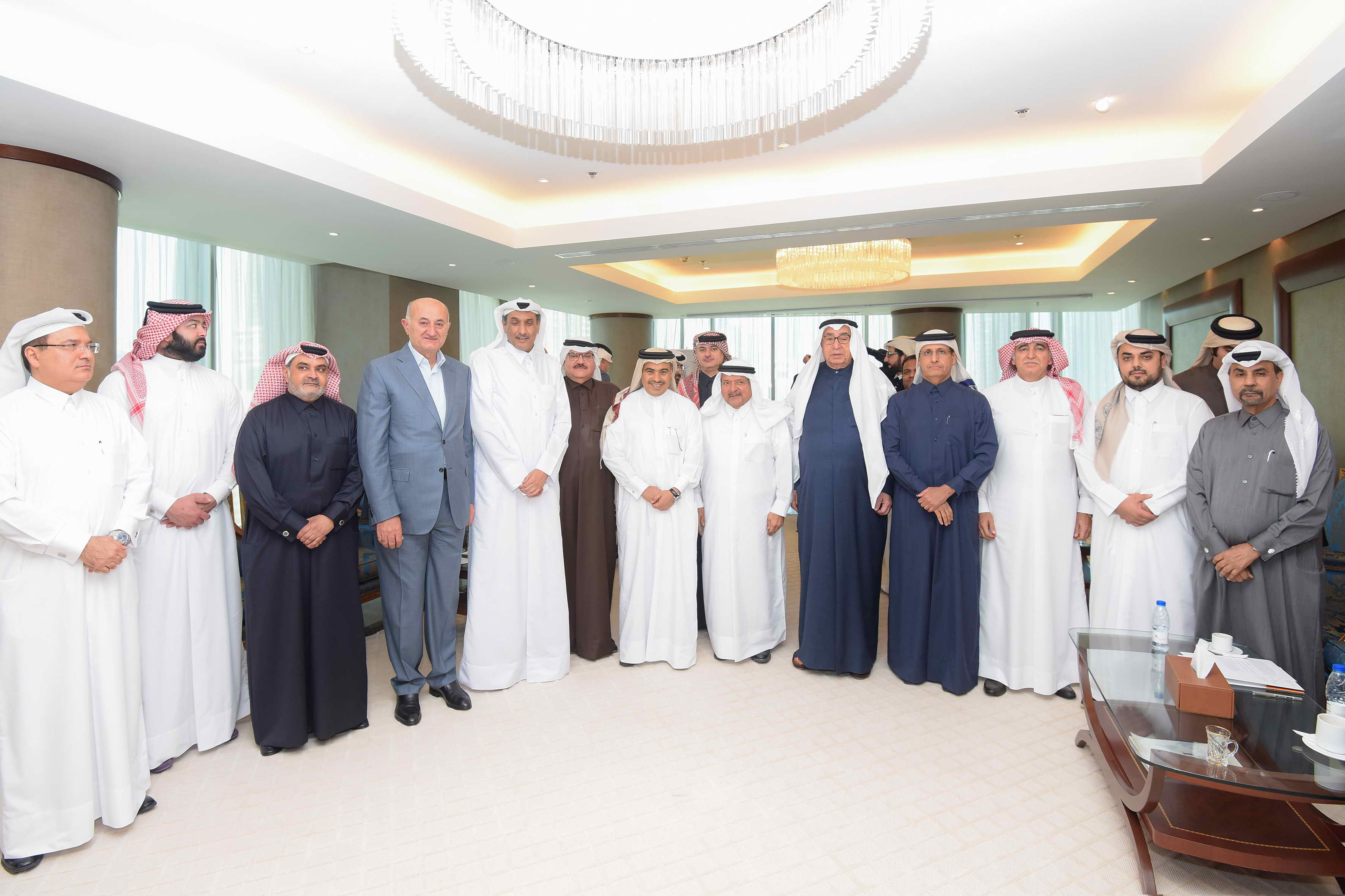 QBA Meeting with H.E. Ali Bin Ahmed Al Kuwari, Minister of Trade and Industry