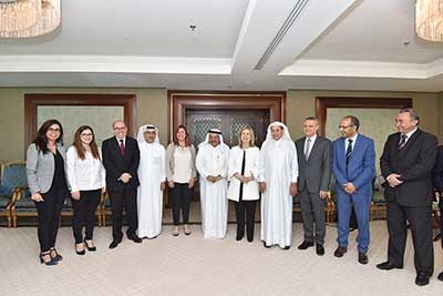 QBA Meeting with H.E Minister of Tourism of Tunisia