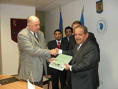 Qatari Businessmen Association signed a memorandum of understanding with Bucharest chamber of commerce and industry