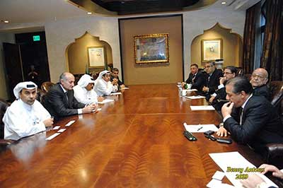 QBA's Meeting With The Egyptian Business Delegation