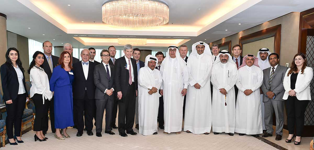 QBA meeting with the US Delegation of the Business Executives for National Security (BENZ)
