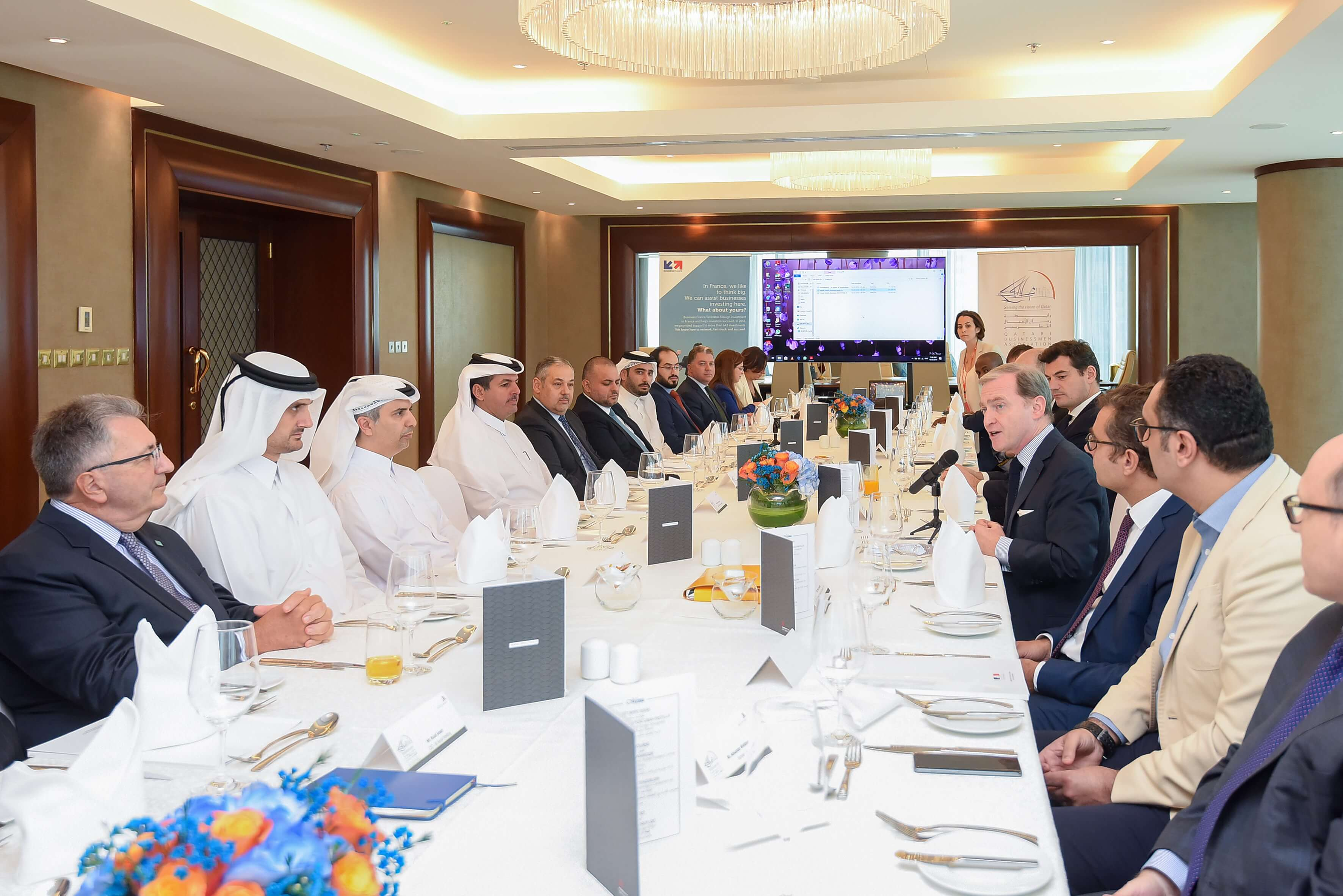 QBA Roundtable with French Investment Funds in cooperation with the French Embassy in Doha